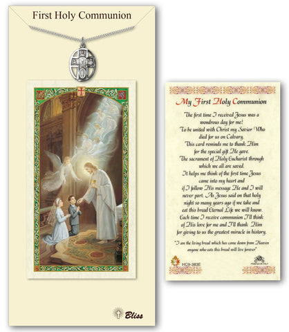 Image of 5-Way / Chalice Pewter Prayer Card