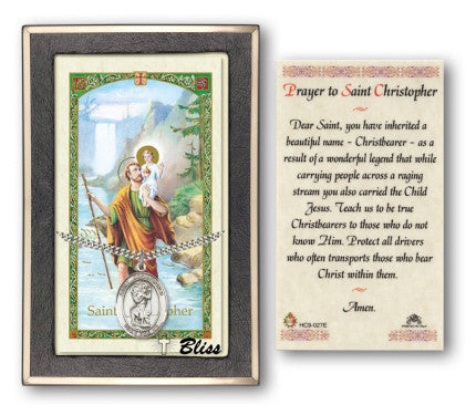St. Christopher Pendant / Prayer Card