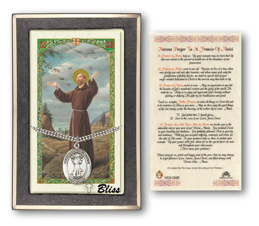 St. Francis of Assisi Pendant / Prayer Card
