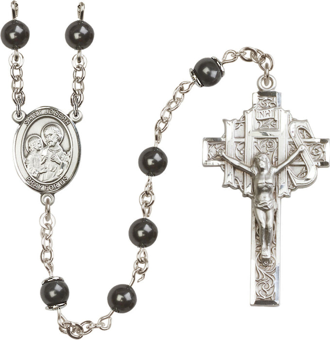 6mm_black_pearl_sterling_silver_rosary