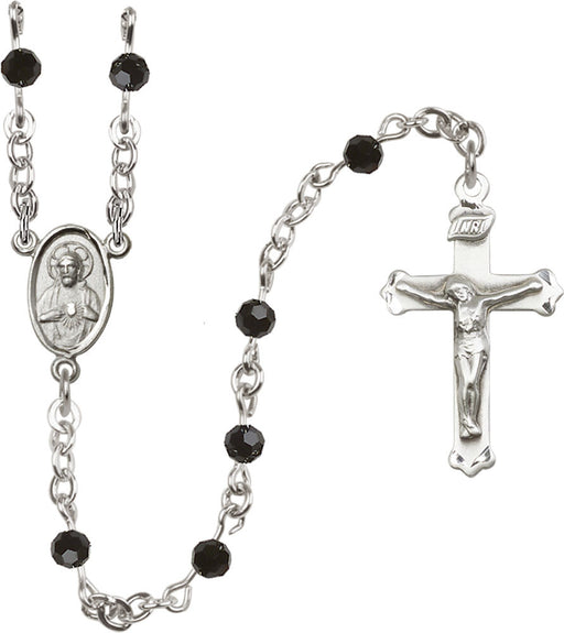 black_sterling_silver_rosary
