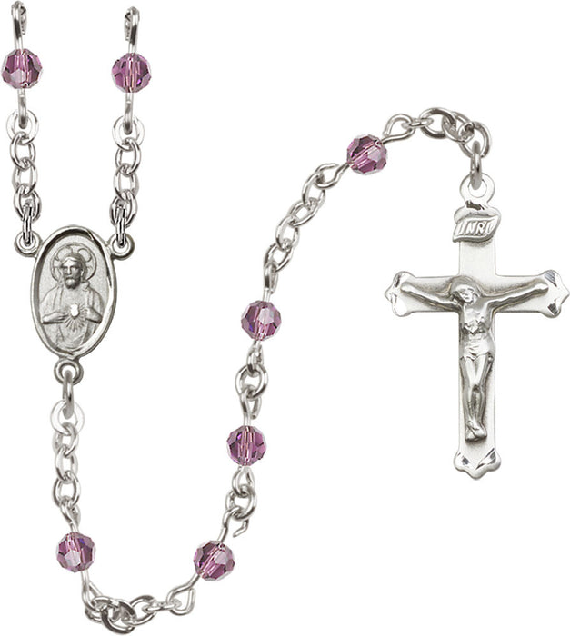 light_amethyst_sterling_silver_rosary