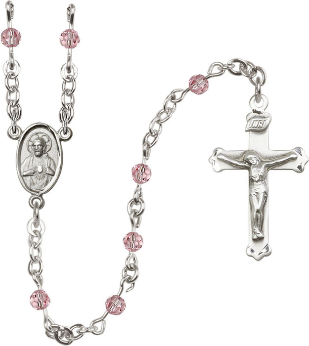light_rose_sterling_silver_rosary