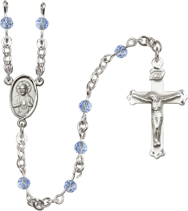 light_sapphire_sterling_silver_rosary