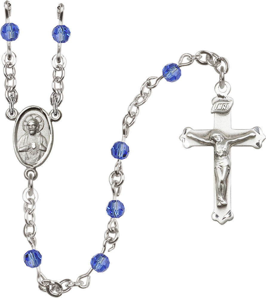 sapphire_sterling_silver_rosary