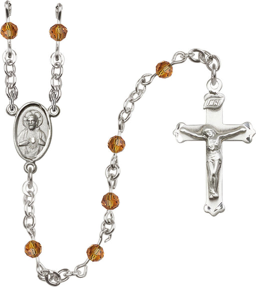 topaz_sterling_silver_rosary