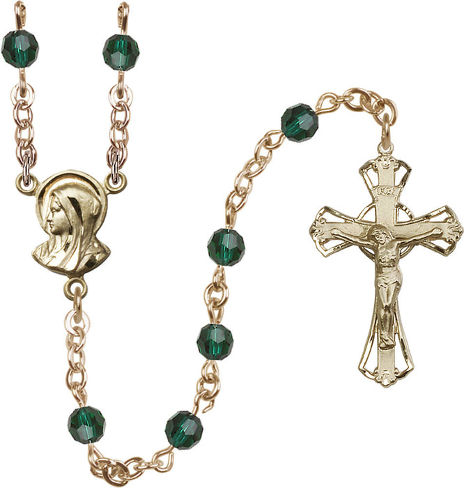 5mm_emerald_swarovski_gold_filled_rosary