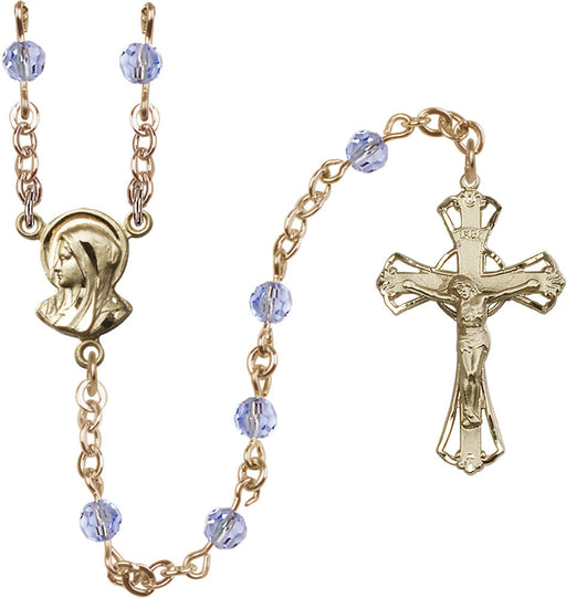 5mm_light_sapphire_14kt_gold_filled_rosary