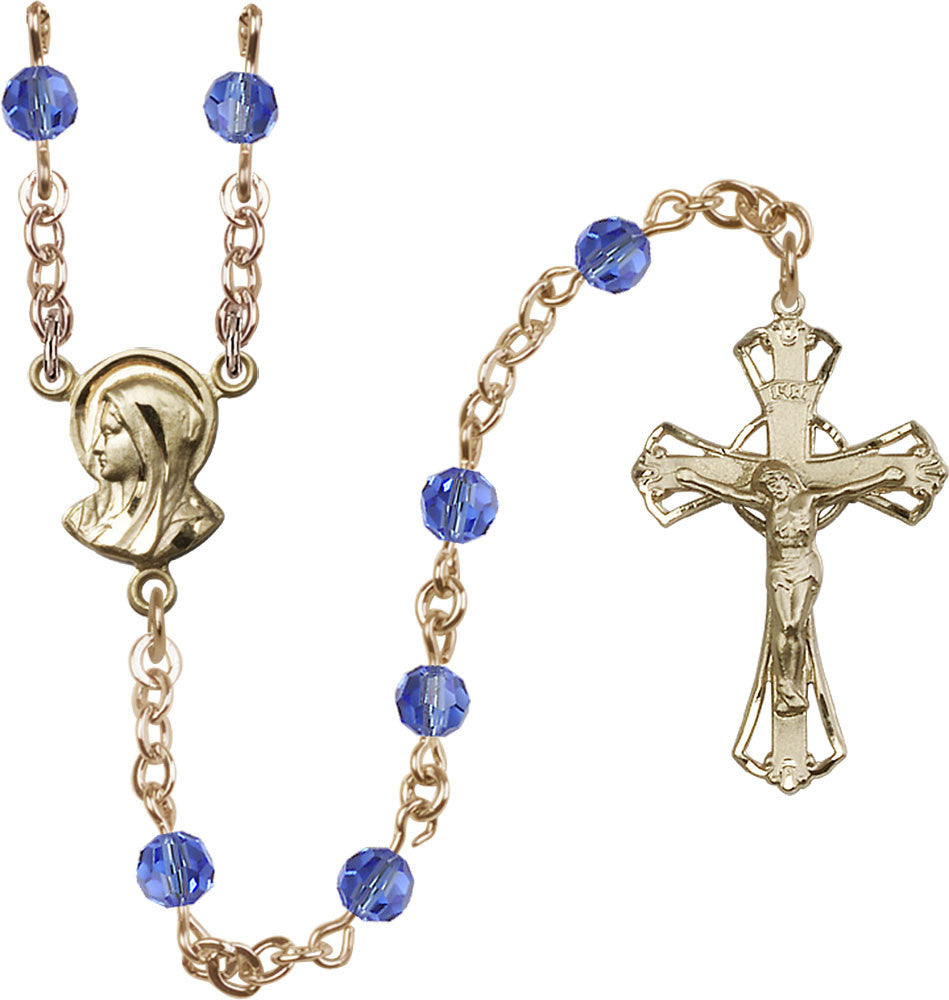 5mm_sapphire_14kt_gold_filled_rosary