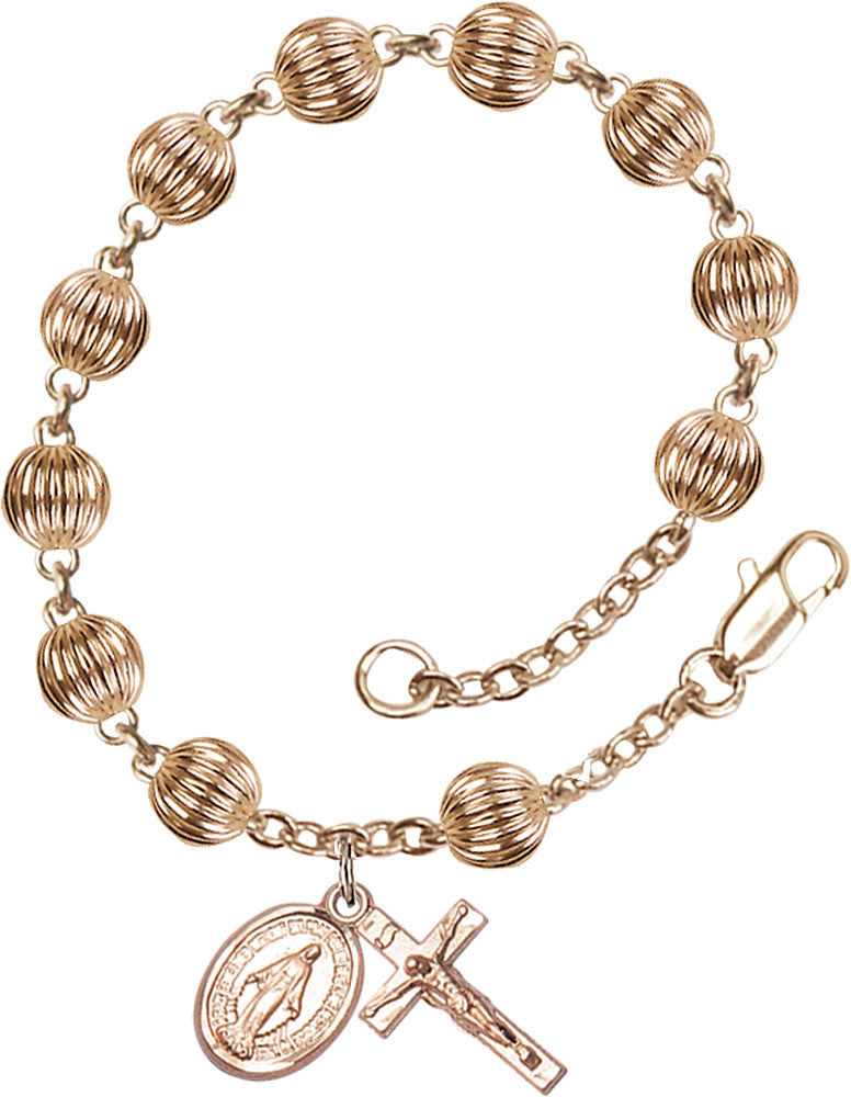 gold_filled_corregated_rosary_bracelet