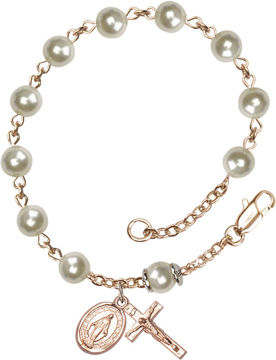 cream_rose_pearl_gold_filled_rosary_bracelet
