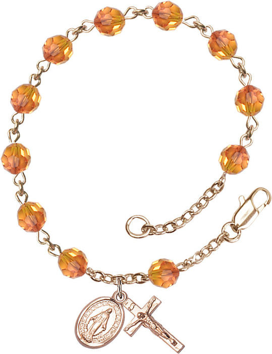 opal_gold_filled_rosary_bracelet