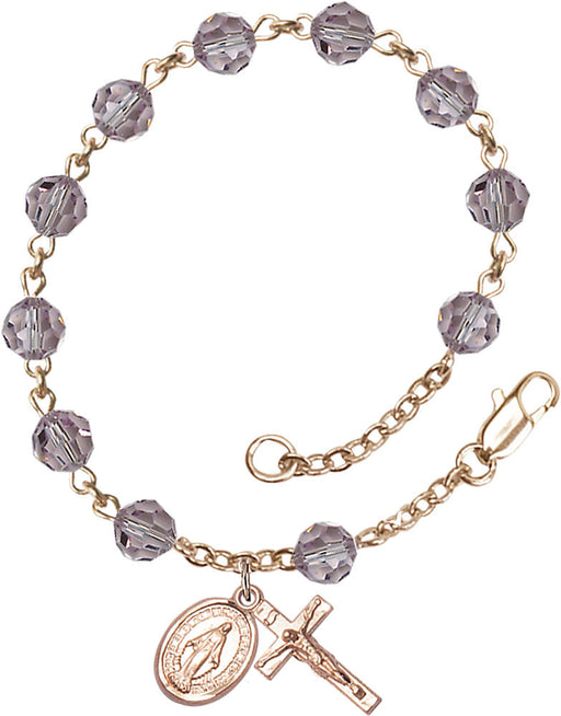 light_amethyst_gold_rosary_bracelet