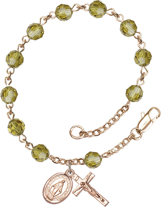 lime_gold_filled_rosary_bracelet