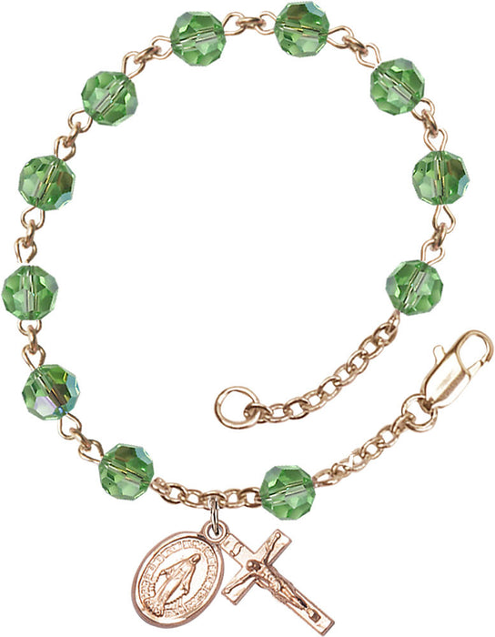 peridot_gold_filled_rosary_bracelet