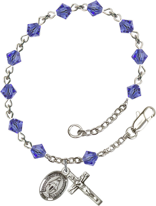 sapphire_sterling_silver_rosary_bracelet