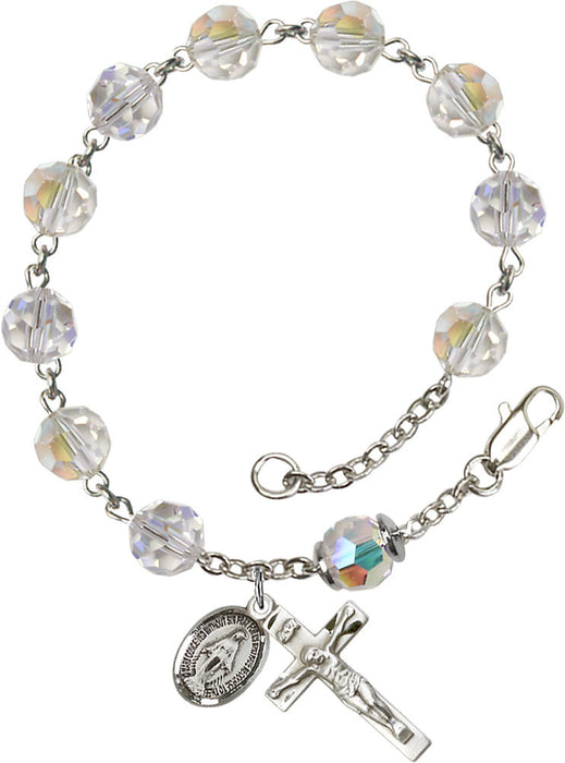 crystal_our_father_sterling_silver_rosary_bracelet