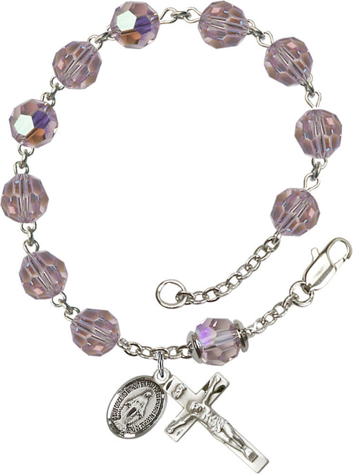 light_amethyst_our_father_sterling_silver_rosary_bracelet