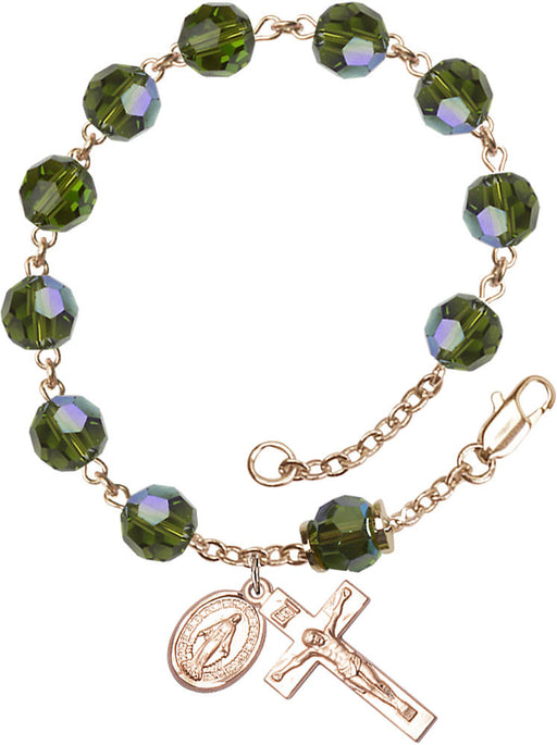 olive_our_father_gold_rosary_bracelet