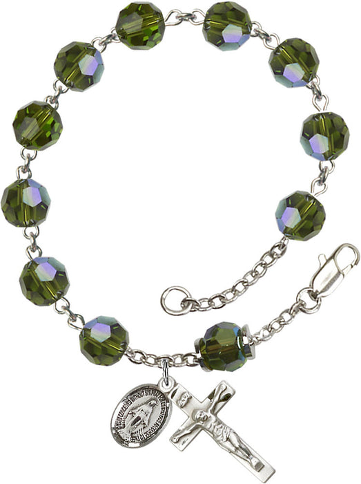 olive_our_father_sterling_silver_rosary_bracelet