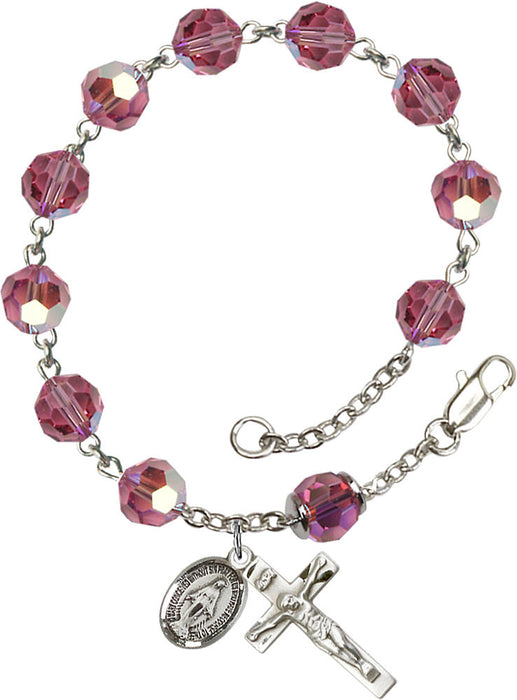 rose_our_father_sterling_silver_rosary_bracelet