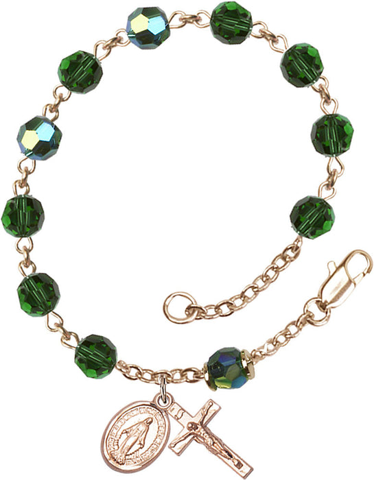 emerald_gold_filled_rosary_bracelet