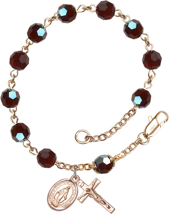 garnet_gold_filled_rosary_bracelet