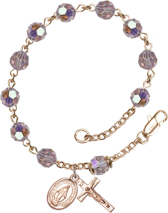 light_amethyst_gold_filled_rosary_bracelet