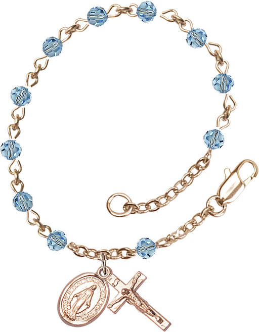 aqua_gold_filled_rosary_bracelet