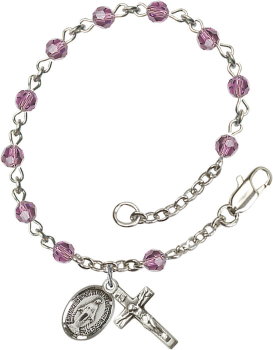light_amethyst_sterling_silver_rosary_bracelet