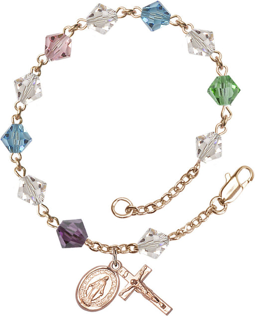 multi_color_gold_rosary_bracelet