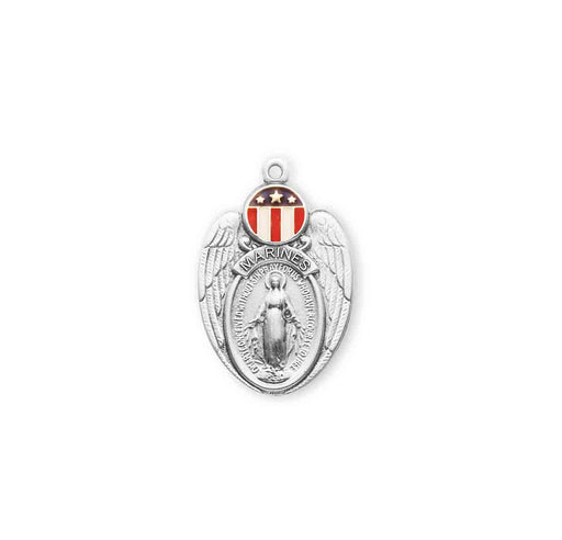 Sterling Silver Marines Medal