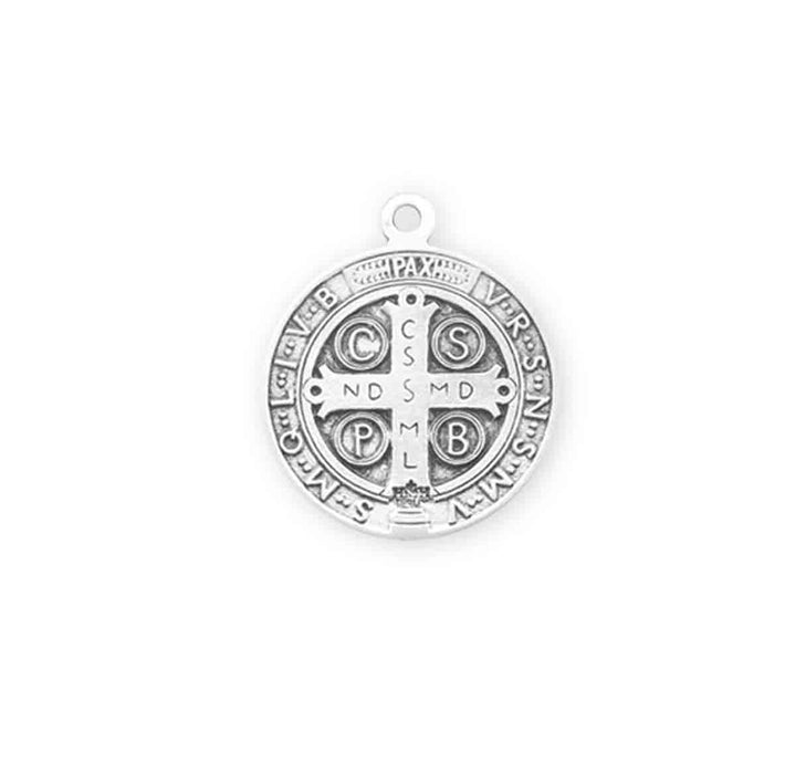 Sterling Silver St. Benedict Medal