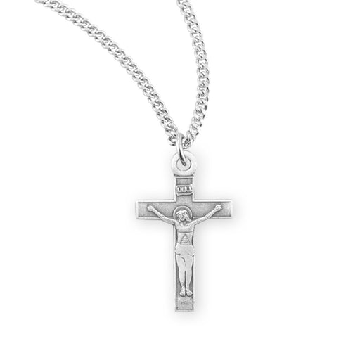 Sterling Silver Cross (Baby Medal)