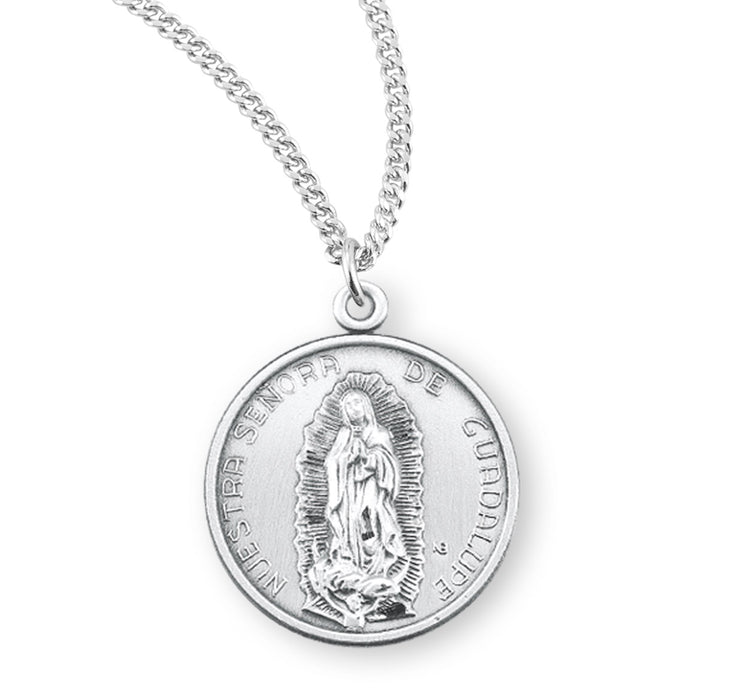 Sterling Silver Our Lady of Sorrows Medal