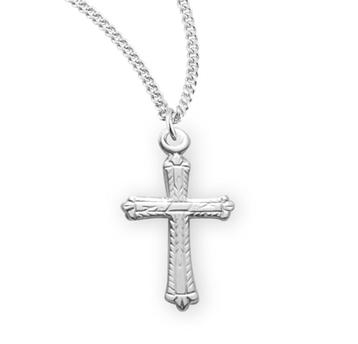 Sterling Silver Miraculous Cross (Baby Medal)