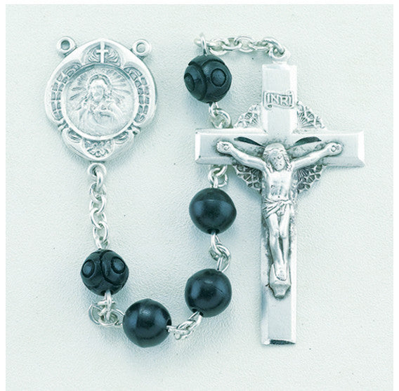round_black_sterling_rosary