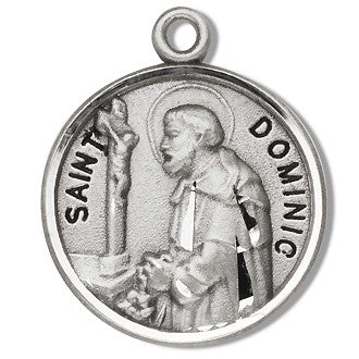 silver_shaped_st_dominic_medal
