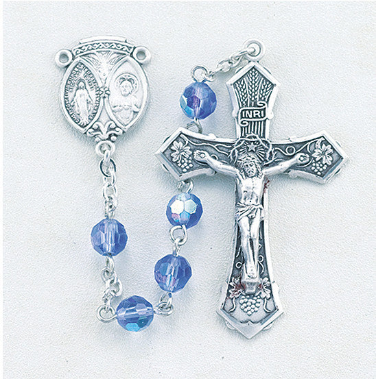 tin_cut_sapphire_sterling_rosary