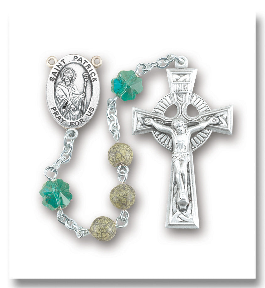 green_stone_sterling_rosary