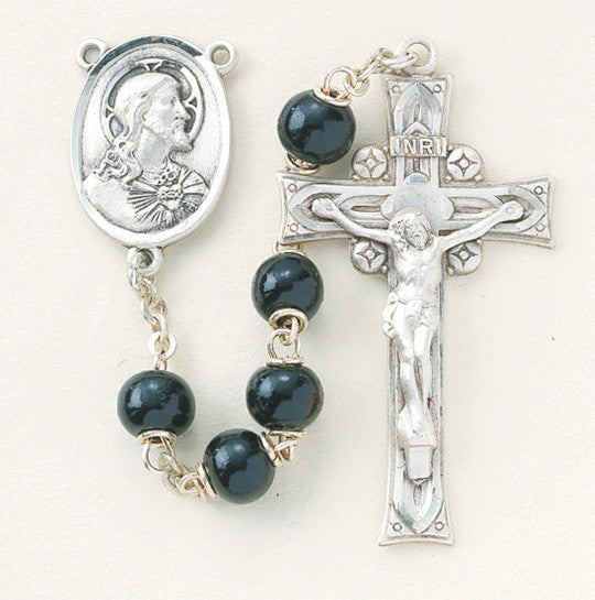 black_round_sterling_rosary