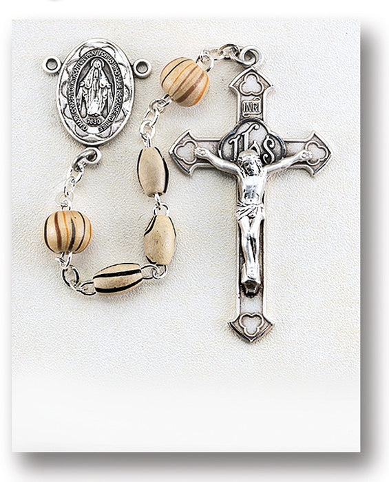 gold_wood_sterling_rosary