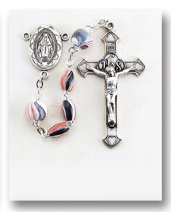pink_oval_wood_sterling_rosary