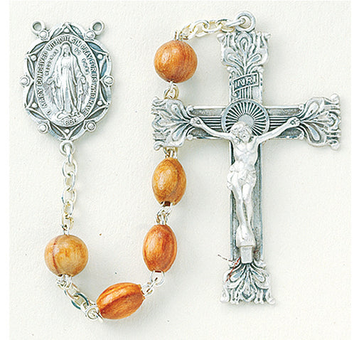 rose_wood_oval_sterling_rosary