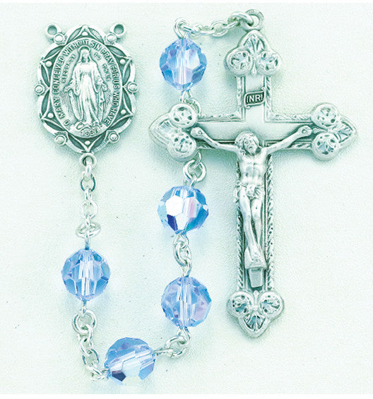 light_sapphire_sterling_rosary