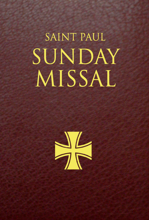Saint Paul Sunday Missal, Burgundy