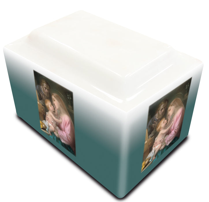 Holy Family Cultured Marble URN
