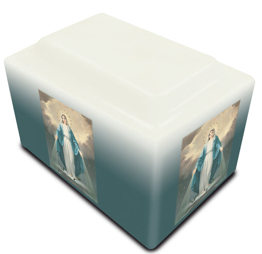 Our Lady of Grace Cultured Marble URN