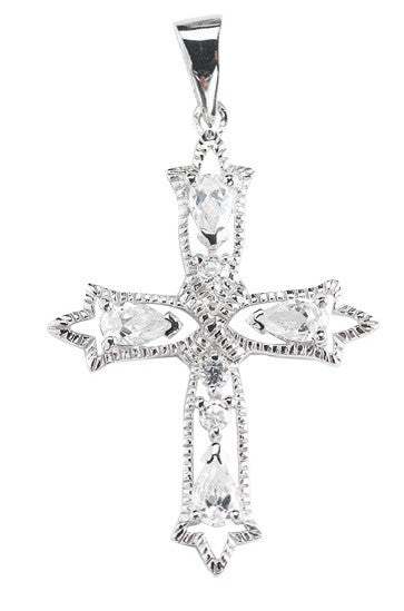 silver_cubic_zircon_cross