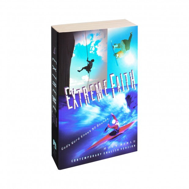 CEV Extreme Faith Youth Paperback Bible- Only 3 left in stock -Out of Stock Until August 2016